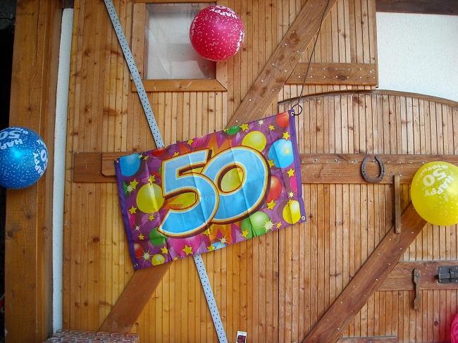 überraschung für 50 geburtstag