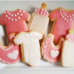 Babyparty Kekse für Mädchen