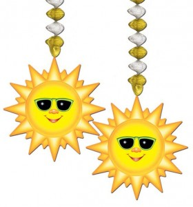Dekohänger Sonne
