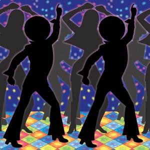 Wanddeko Disco Dancer