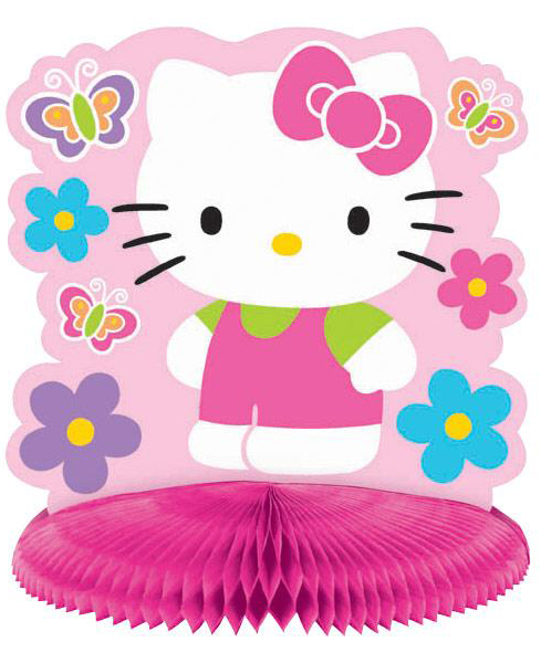 Hello Kitty Tischdeko