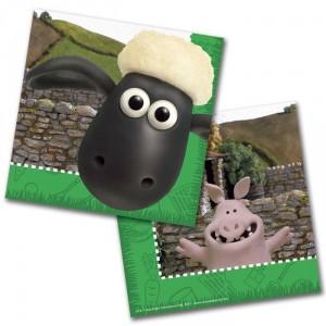 Servietten Shaun das Schaf