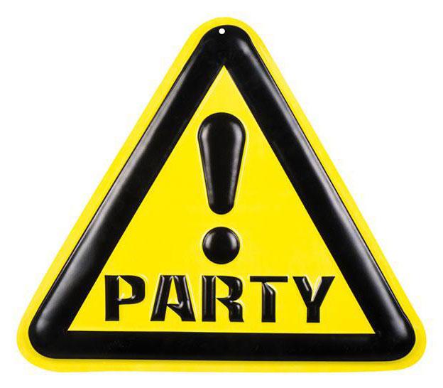Wanddeko wilde Partyzone