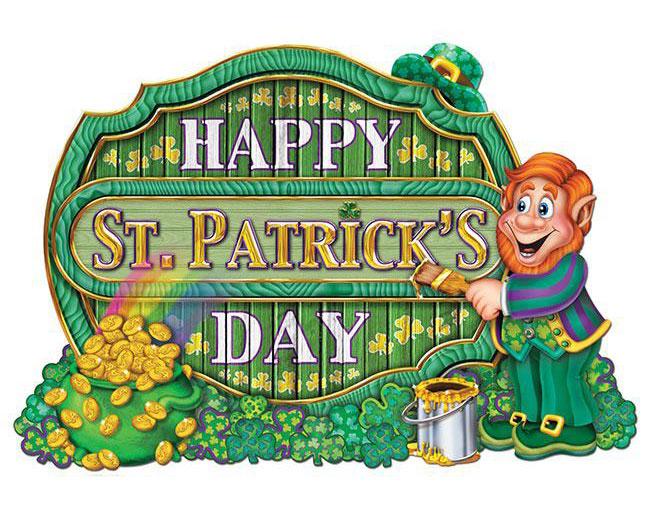 Raumdeko St. Patrick's Day