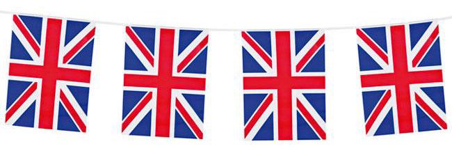 Wimpel-Girlande Union Jack
