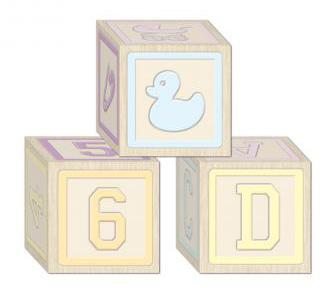 Geschenkboxen mit Babymotiven