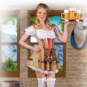 """Kostüm Dirndl """"Bayrisches Mädchen"""""""