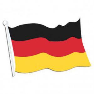Papp Flagge Deutschland
