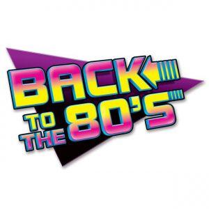 "Wanddeko ""Back to the 80s"""