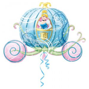 "XL Folienballon ""Cinderella im Traumland"""