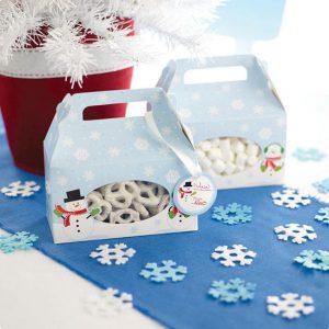 """Geschenkboxen """"Schneemänner"""""""