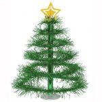 """Lametta-Tischdeko """"Weihnachtsbaum"""""""