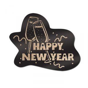 "Wanddeko ""Happy new year"""
