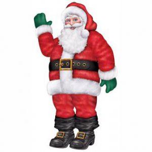 """Raumdeko """"Weihnachtsmann"""""""