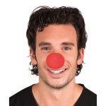 Clownsnasen aus Schaumstoff 12er Pack