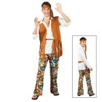 Kostüm Hippie-Man Deluxe