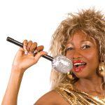 Mikrofon mit Silber-Glitter