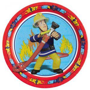 """Pappteller """"Feuerwehrmann Sam"""""""
