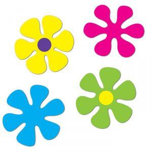 Raumdeko Flower-Power Blumen