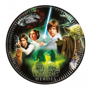 "Pappteller ""Star Wars Helden"" 8er Pack"