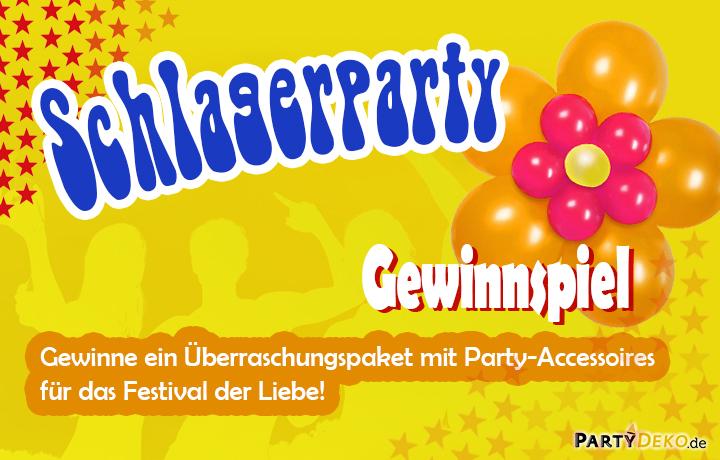 Gewinnspiel anl sslich des schlagermove 2017 for Partydeko hamburg