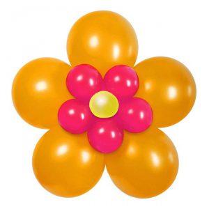 "Ballon-Set ""Blume"" 16-tlg."