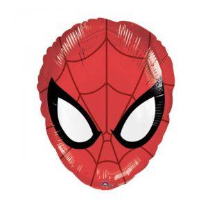 "Folienballon Maske ""Der ultimative Spiderman"" 43 cm"