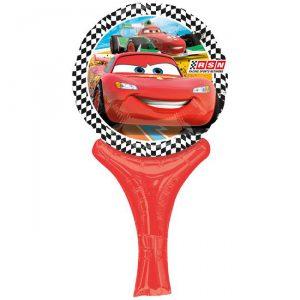 "Mini Folienballon ""Rasante Cars"" 30 cm"