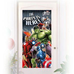 "Tür-Deko ""Avengers Assemble"""