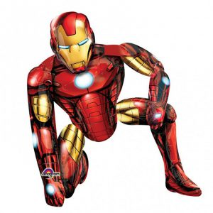 "XXL Folienballon-Buddy ""Iron Man"" 1,1 m"