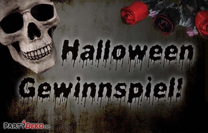 Halloween Gewinnspiel 2017