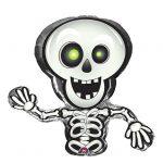 """Folien-Ballon """"Lustiges Skelett"""" 36 cm"""