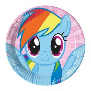 "Pappteller ""My little Pony Freunde"" 8er Pack"