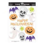 """Statisch haftende Aufkleber """"Happy Halloween"""" 11-tlg."""