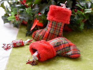 "Deko-Socke ""Klassische Weihnacht"" 2er Pack"