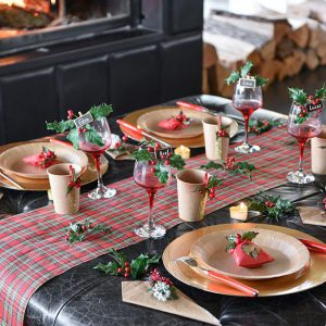 """Tischläufer """"Klassische Weihnacht"""" 30 x 500 cm"""