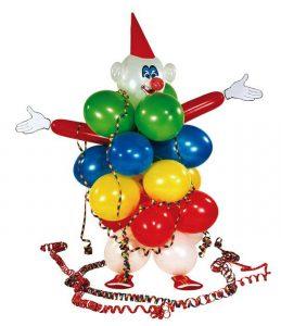 """Luftballon Deko-Set """"Clown"""" 53-tlg."""