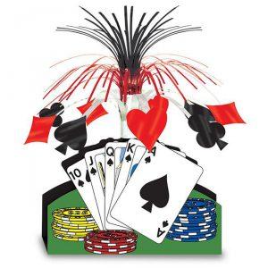 "Tischdeko ""Poker in Las Vegas"" 33 cm"