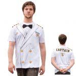 """Fotorealistisches Shirt """"Kapitän zur See"""""""