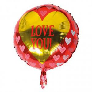 "Folienballon ""Love You"" 44 cm"