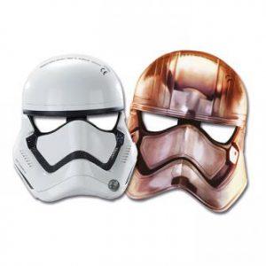 """Storm Trooper Masken """"Star Wars 7"""" 6er Pack"""