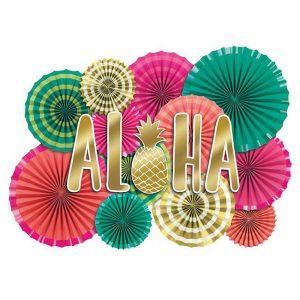 """Raumdeko-Set """"Aloha Sommer"""" 17-tlg."""