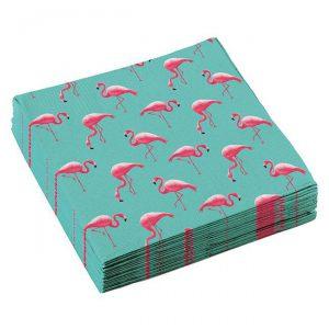 "Servietten ""Flamingo Paradise"" 20er Pack"