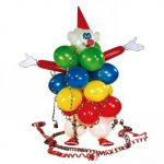 "Luftballon Deko-Set ""Clown"" 53-tlg."