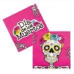 "Servietten ""El Dia de los Muertos"" 12er Pack"