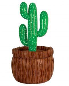 """Aufblasbarer Tisch-Getränkekühler """"Kaktus"""" 66 cm"""