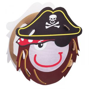 "Laternen-Bastelset ""Pirat"" 8-tlg."