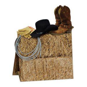 """Tischdeko """"Cowboy-Style"""" 24 cm"""
