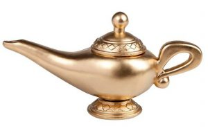 Orientalische Wunderlampe 23 cm