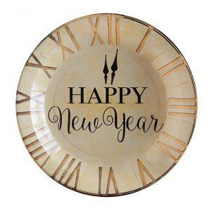"Pappteller ""Happy New Year"" 10er Pack"